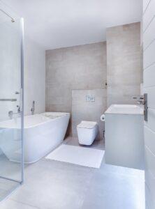 modern bathroom glasgow